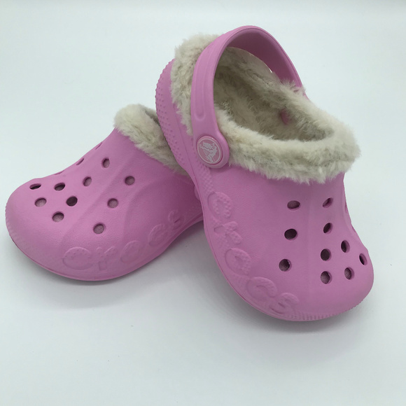 CROCS Shoes   Girls Toddler Lined Size
